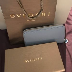 🌟New 💯 Authentic Bulgari wallet